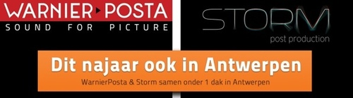 WarnierPosta and Storm team up in Antwerp !
